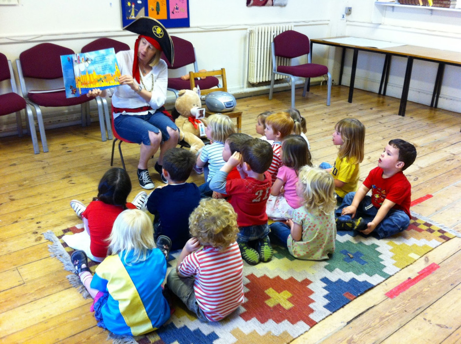 Playgroup storytime